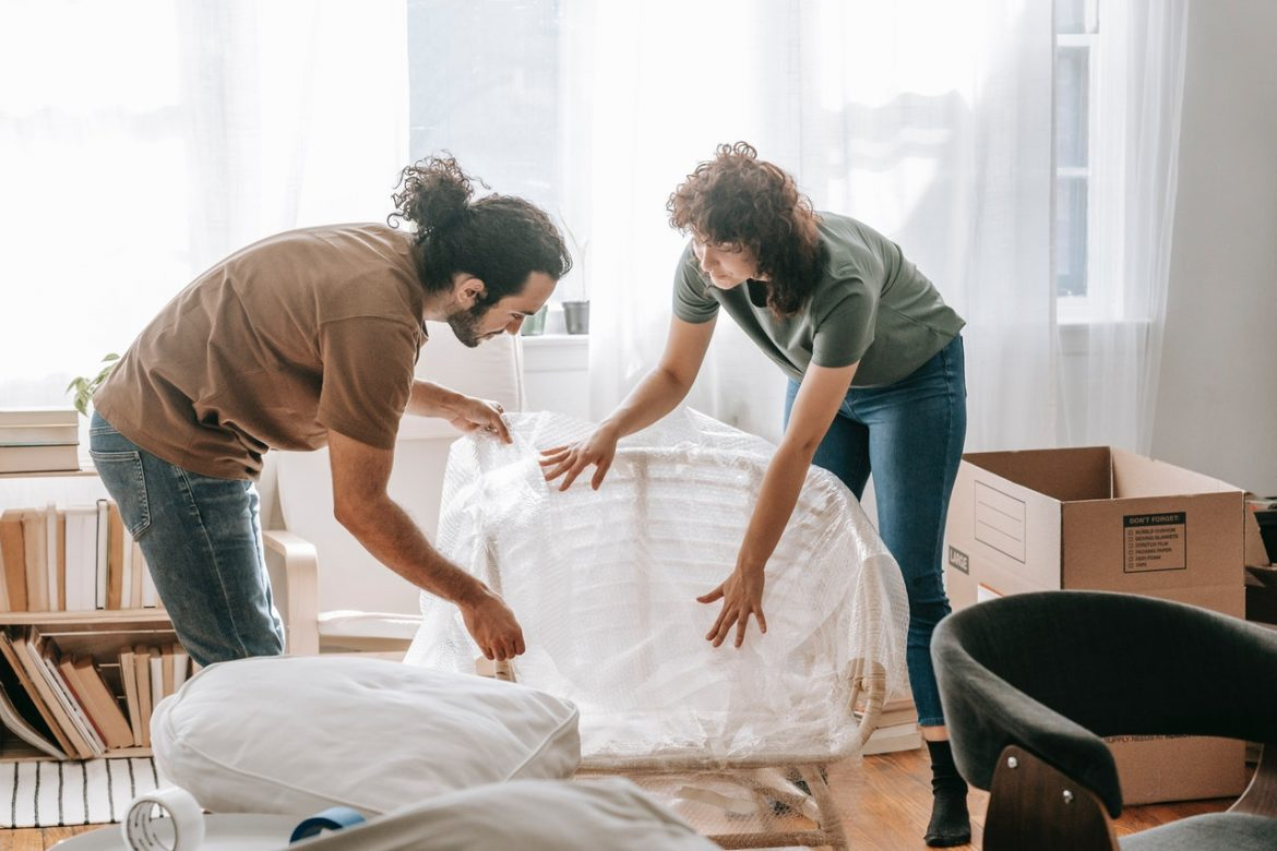 The best technique to Pack a Messy House to Move ?