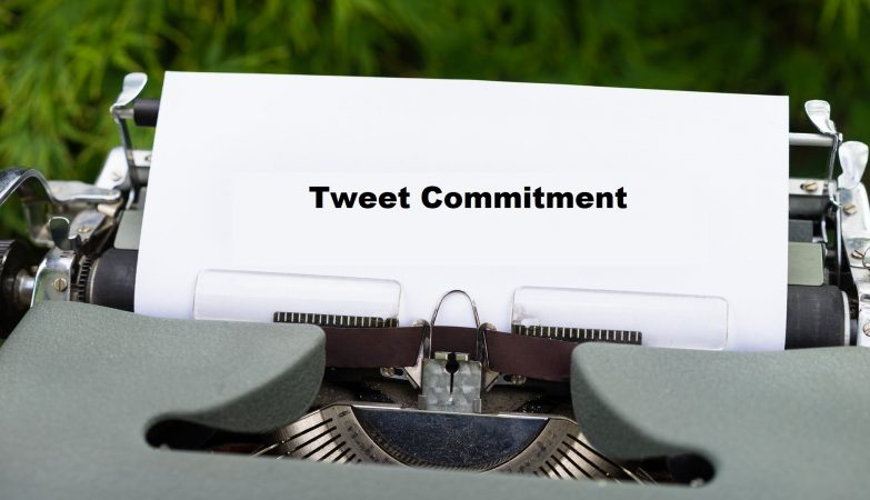 tweet commitment